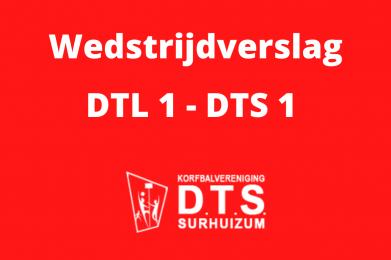 DTS in tweede helft langs DTL