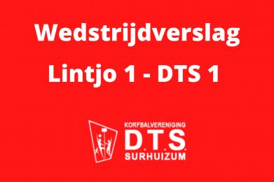 DTS pakt twee punten tegen Lintjo